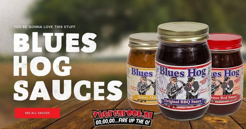 Blues Hog Honey Mustard 1 pint