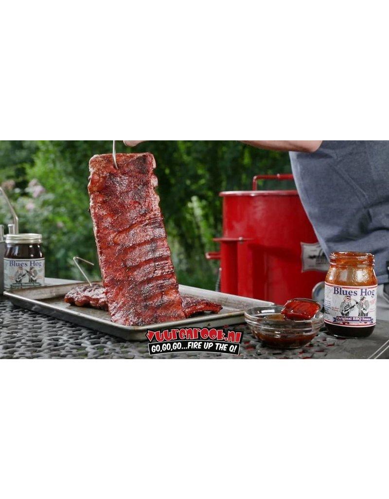 Blues Hog Blues Hog Dry Rub 26oz + GRATIS ROSES ARE RED BBQ SAUCE