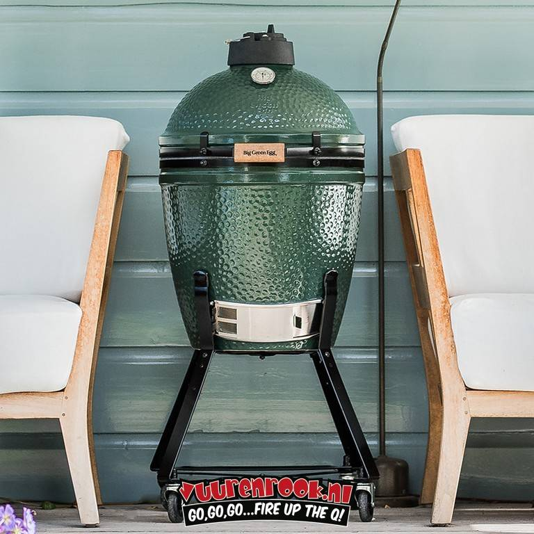 Big Green Egg Big Green Egg ConvEGGtor / Plate Setter Medium