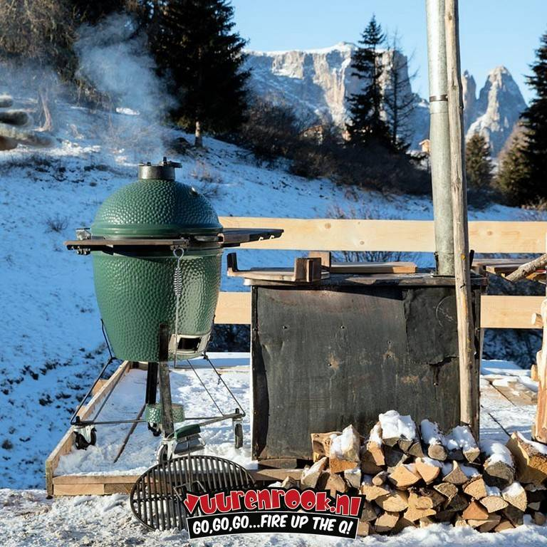 Big Green Egg Injectienaald RVS