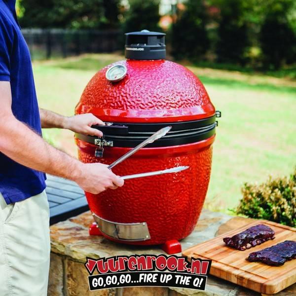 Kamado Joe Big Joe Stand-Alone + GRATIS BBQ PAKKET