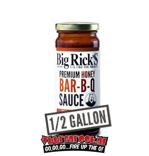 Big Rick's Honey BBQ Sauce 1/2 Gallon