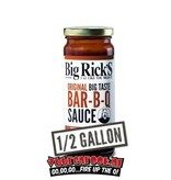 Big Rick's Original BBQ Sauce 1/2 Gallon