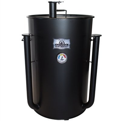 SUPER SALE! Blues Hog Edition Gateway Drum Smoker - 55 Gallon Flat Black No Plate