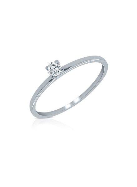 Zirkonia Ring Pure