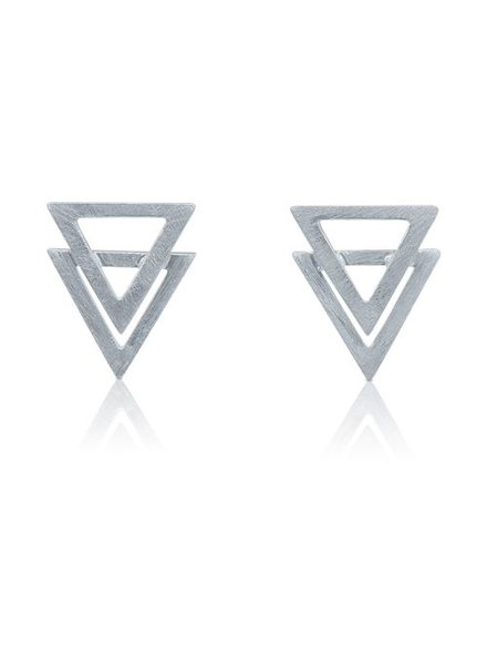 Ohrringe Dreieck Triangle
