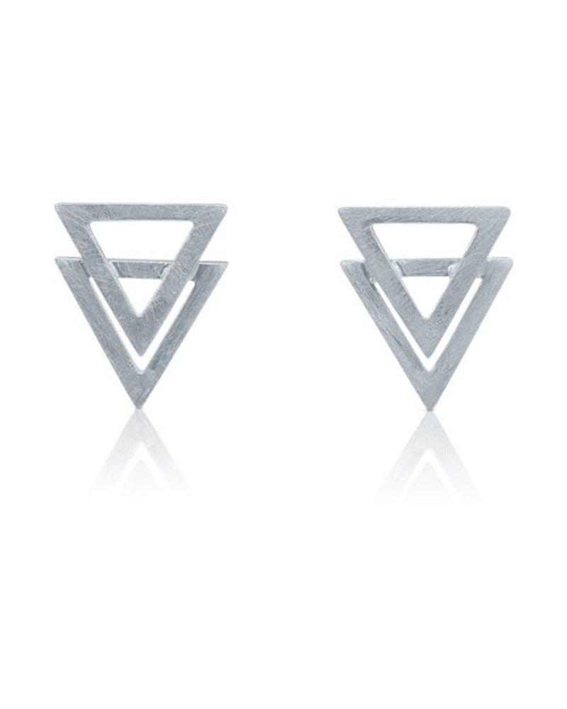 Ohrringe Dreiceck Triangle