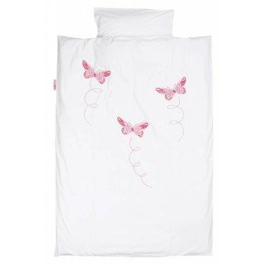 Taftan Taftan dekbedovertrek vlinder