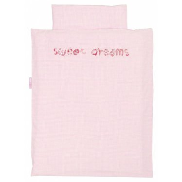 Taftan Taftan dekbedovertrek Sweet Dreams roze 100 x 135 cm - Copy - Copy