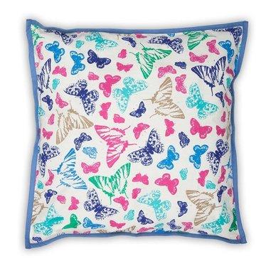 Colorique Mooie Colorique Into The Woods canvas kussenhoes vlinder