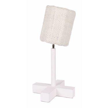 Stapelgoed Leuke Tafellamp van het merk Stapelgoed in de kleur Gebreid Wit