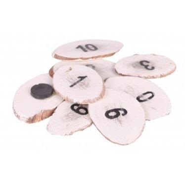 Stapelgoed Leuk magneetjes setje van de cijfers 1 t/m 10 van het merk Stapelgoed
