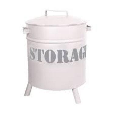 Stapelgoed Stoere Storage Drums van Stapelgoed Wit
