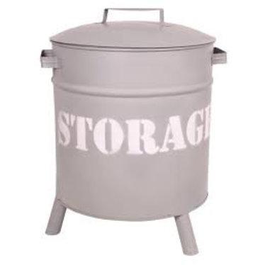 Stapelgoed Stoere Storage Drums van Stapelgoed Grijs