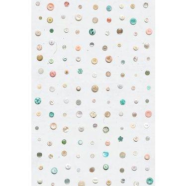Studio Ditte Knopen behang - Pastel van Studio Ditte