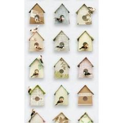 Studio Ditte Vogelhuisje behang - Pastel van Studio Ditte