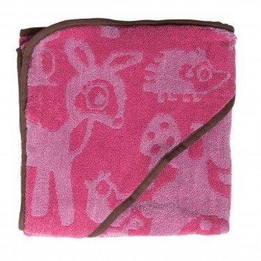 Sebra Leuke badhanddoek van het merk Sebra in de kleur Forest Pink