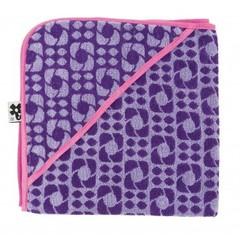 Sebra Sebra Badhanddoek Lilac Graphic