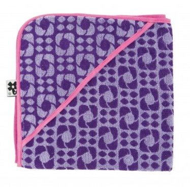 Sebra Leuke badhanddoek van het merk Sebra in de kleur Lilac graphic