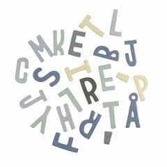 Sebra Sebra Magneet Letters Boy