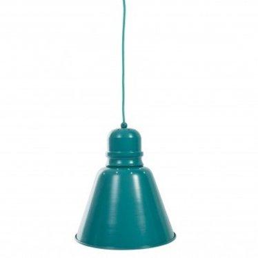 Sebra Leuke Metalen Hanglamp XL Turquise van Sebra