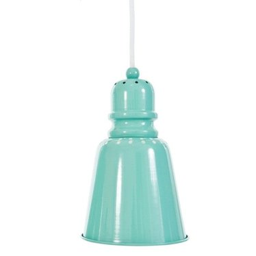 Sebra Leuke Metalen Hanglamp Groot Groen van Sebra