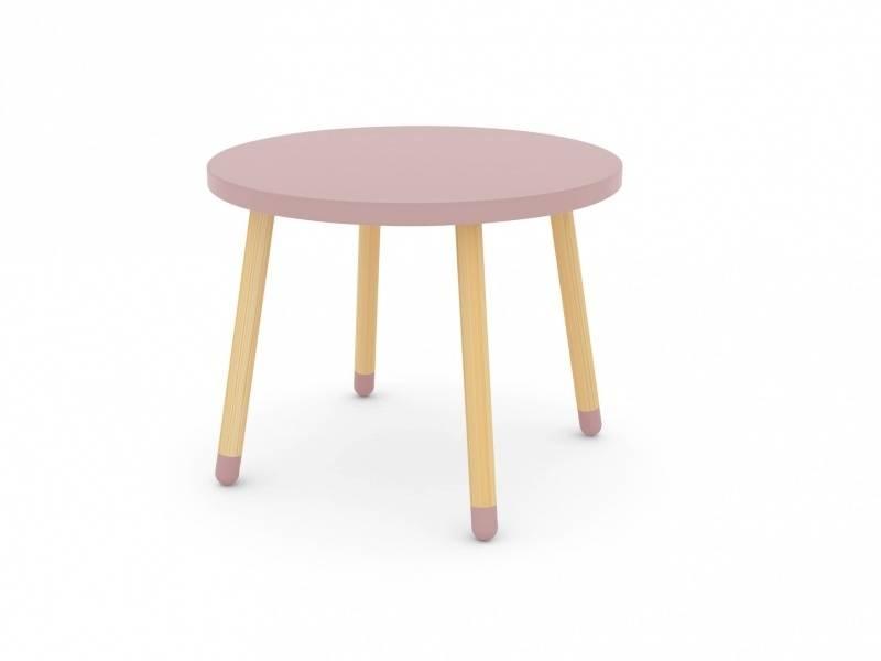 Een leuk tafeltje van het merk flexa in de kleur roze