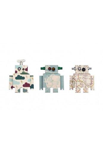 Studio Ditte Stoere muursticker set robots van Studio Ditte