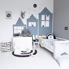 LoveYouMore Steigerhouten speelgoedkist wit