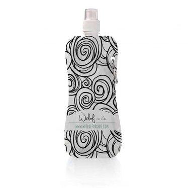 Witlof for Kids Leuke waterflesje van het merk WitlofForKids in de kleur zwart wit