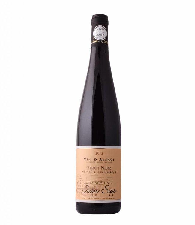 Jean Sipp Pinot Noir 'Rouge Élevé en Barrique' 2012