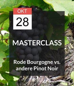 -VOLGEBOEKT- 28 OKT - Rode Bourgogne vs. andere Pinot Noir