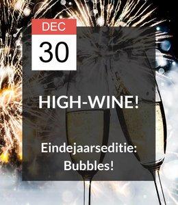 30 DEC - High-Wine! Eindejaarseditie: Bubbles!
