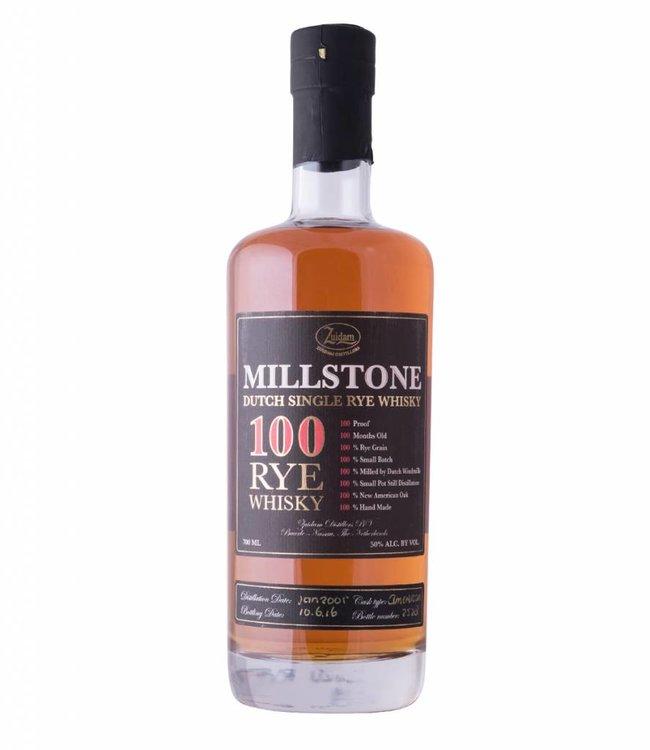 Zuidam Millstone Single Malt 100 Rye Whisky