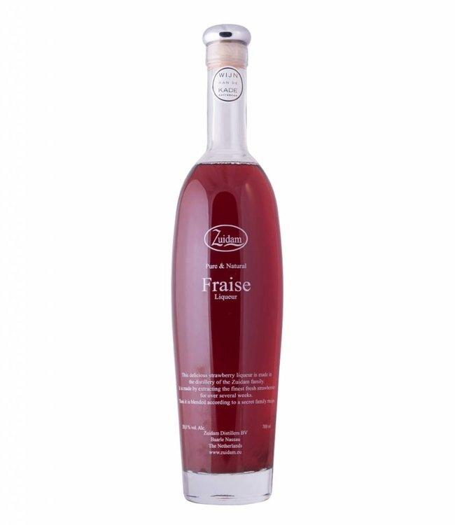 Zuidam 'Pure & Natural' Fraise Liqueur