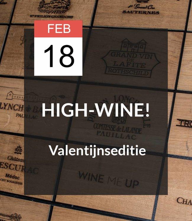 18 FEB - High-Wine! Valentijnseditie