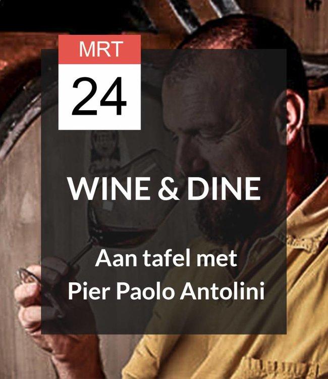 24 MRT - Wine & Dine met Pier Paolo Antolini