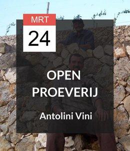 24 MRT - Open proeverij: Antolini Vini op bezoek