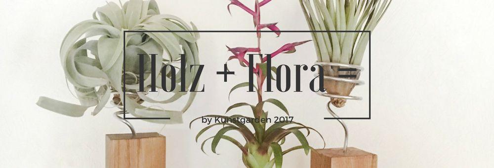 Holz und Flora