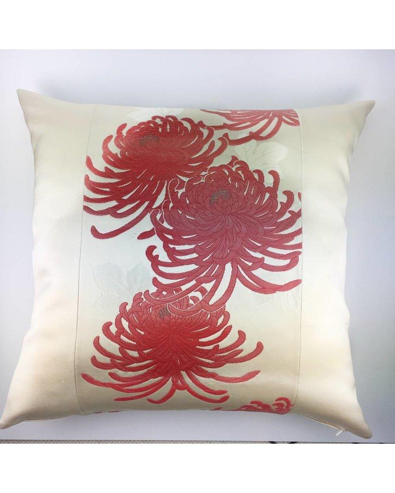 "Kissen  ""Aka Kiku"" - 60 x 60 cm"