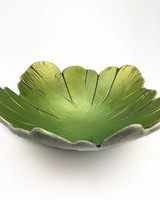 "Betonschale ""Green Leaf"""