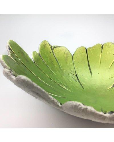 """Betonschale """"Green Leaf"""""""