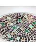Große Betonschale mit Mosaik