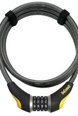 Onguard OnGuard Akita Combo Cable Lock 185cm x 12mm