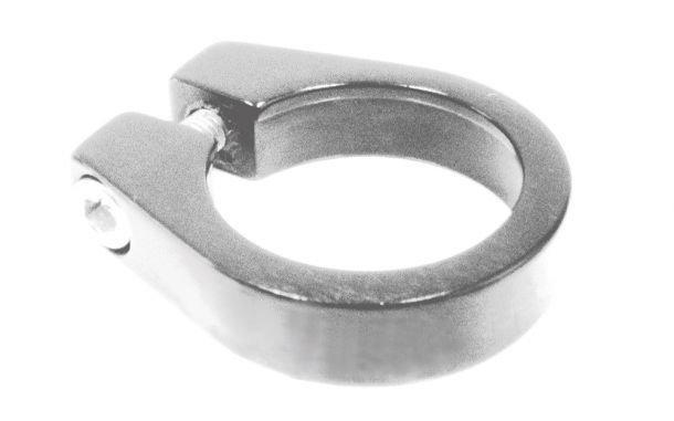 ETC ETC Seat Clamp 28.6mm Silver
