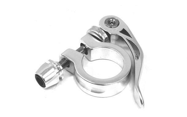 ETC ETC Q/R Seat Clamp 28.6mm Silver