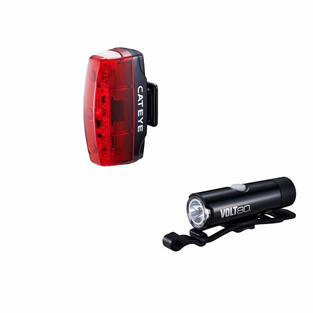 Cateye Volt 80/Rapid Micro Lightset