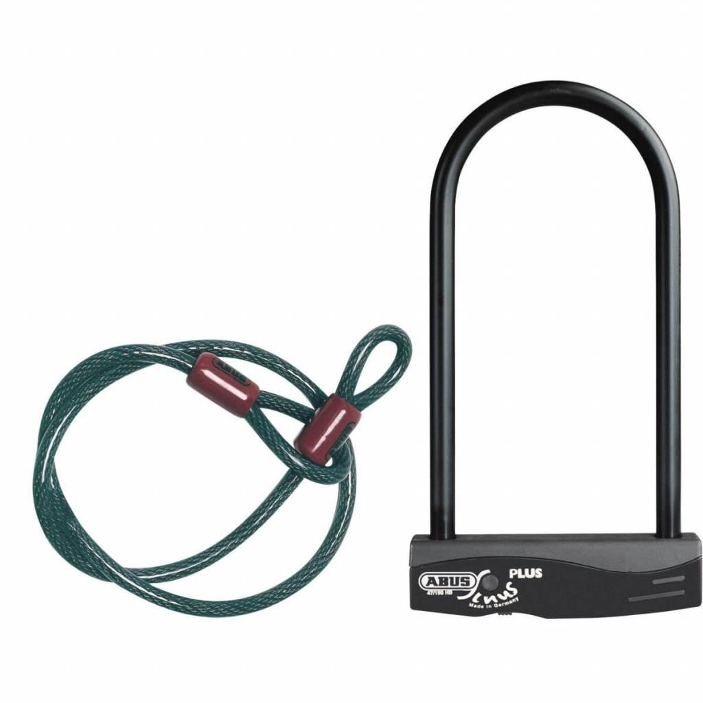 Abus Sinus Plus D-Lock/Cable Combination Pack 230mm/120cm