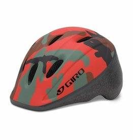 Giro ME2 Helmet Unisize 48-52cm Glowing Red Camo