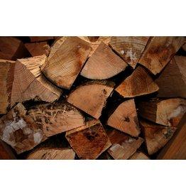 Deboscat Hardhout, gekloven brandhout, droog (per stère)